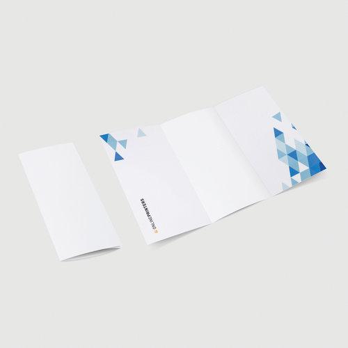 podwójny łam, składanie listowe